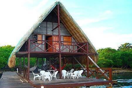 Cabins by the beach in island rosario paradise - Isla Del Rosario