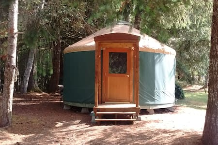 Cozy yurt in private park with bike trail access - Jurta
