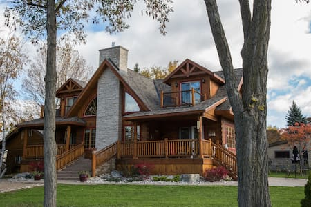 Beautiful Log Home with Lake View! - Bluewater