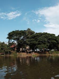 U-Boon @ The Treehouse Organic Farm by the river - Phra Nakhon Si Ayutthaya - Baumhaus