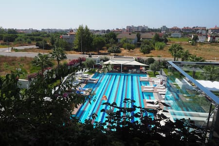 One bedroom pool view apartment in a luxury hotel - Evrenseki Belediyesi