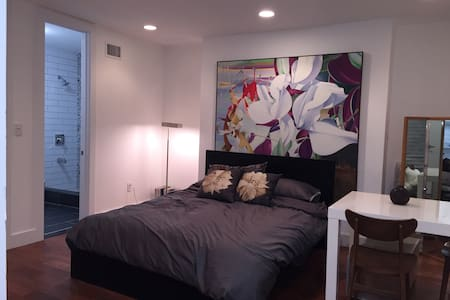 Studio with private entrance and private bathroom - Brooklyn - Townhouse