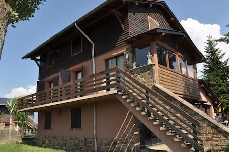 Espectacular casa para 12 pers. en Bourg-Madame!! - Dom