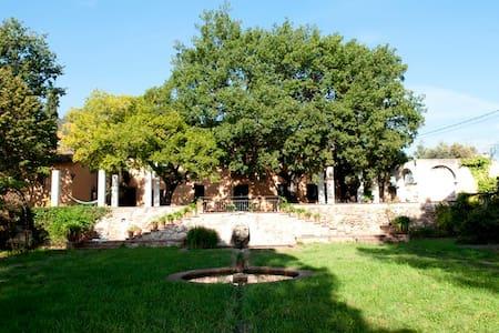Romantica masia  naturaleza jardin bbq y piscina - La Garriga - Villa