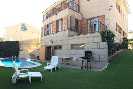 Habitación AZUL con Baño y Terraza - Maison