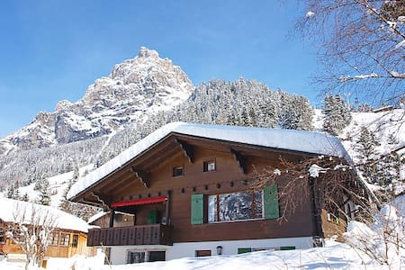 Beautiful house in a great location - Kandersteg - House