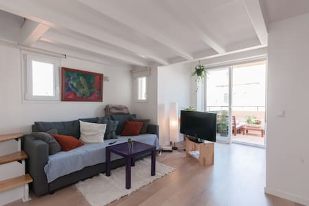Delightful attic in atocha street - Madrid - Apartment
