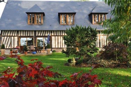"""Maison Normande """"Au Temps des Buis"""" - Gonneville-sur-Scie - Dům"""