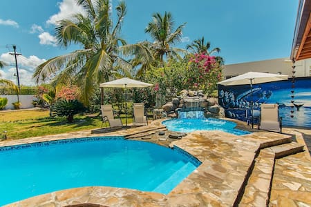 Beach Villa with Pool and Jacuzzi - Boca Chica, DR - Boca Chica