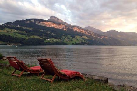Entspannung direkt am See - Lejlighed