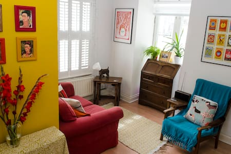 Colourful one bed flat in buzzing central Brighton - Brighton - Lejlighed