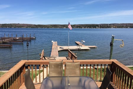 Lakefront Home on the S. Arm of Lake Charlevoix - East Jordan