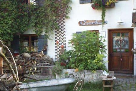 Bauernhaus 18.Jh,urig,Sauna,Wlan,Holzofen,TV - House