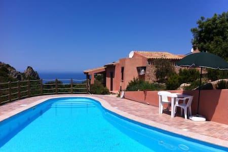 Villa del Sol sea view and pool - Costa Paradiso - Villa