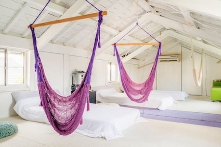 Hammock and Projector room - House