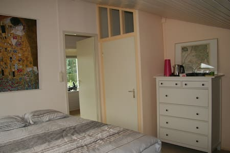 Room with bathroom near Schiphol & Amsterdam - House
