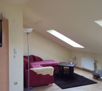 Gemütliche Dachgeschosswohnung - Apartment