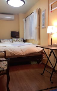 한국어가능. bed room for family near JR Hyogo. - 神戸市 - Casa