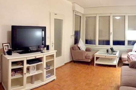 Central apartment with lake view - Geneva - Apartmen