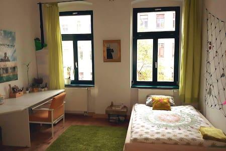 Großes WG-Zimmer in Altbauwohnung. - Dresden - Apartemen
