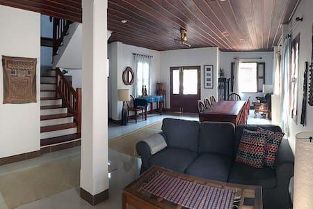 Modern, Art-Filled Home - House