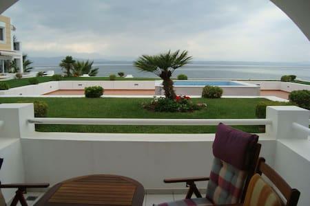Wonderful apartment in front of the sea! - Eretria - Apartment