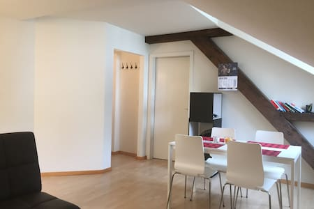 Cozy penthouse appartment in Luzern city center - Apartamento