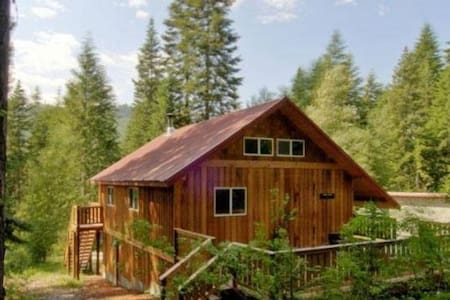 Leavenworth Cabin with Hot Tub - 단독주택