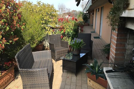 Nice single room on great terrace - Bed & Breakfast
