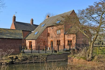 Charming, Modern, Riverside Bilstone Mill - Bilstone - Other