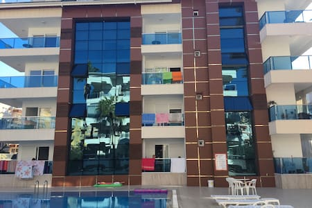 Cozy apartment with 2 swimming pools and hamam - Alanya - Appartement