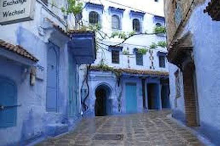 Typical traditional Moroccan house - Rabat - Townhouse