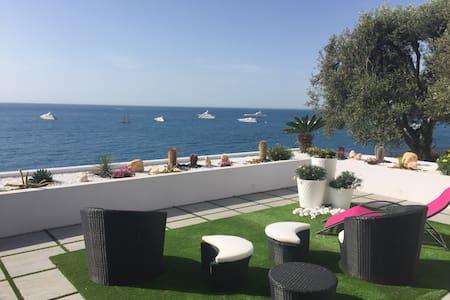 A 10 mn de MONACO, Superbe villa sur la mer - Roquebrune-Cap-Martin