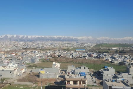 Big place with amazing views - Sulaymaniyah - Apartment