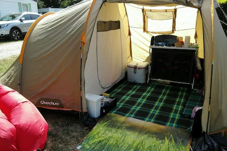 Tente grand confort Loire Castles - Stan