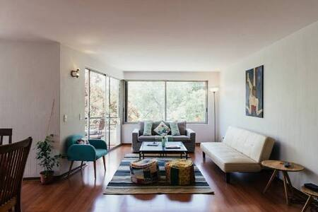 BIG ROOM IN BEATIFULL APARTMENT IN PROVIDENCIA - Providencia - Wohnung