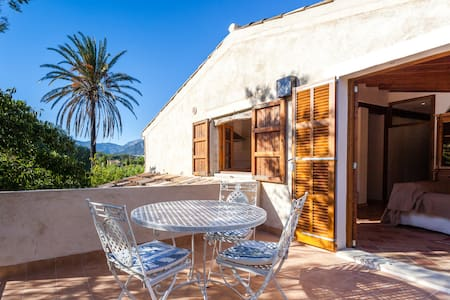 Lovely farmhouse apartment with roof terrace+pool - Selva - Apartment