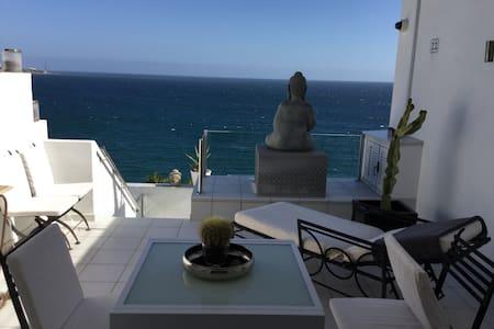 Marvelous room with unique view - Pasito Blanco - Pousada