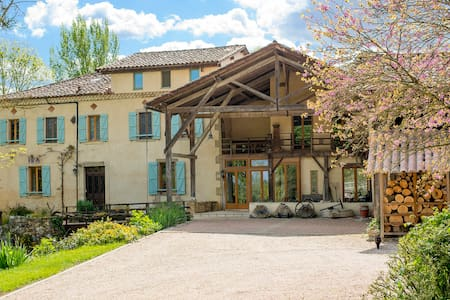 ChezLeMoulin Bed and Breakfast - Verger - Samouillan - Aamiaismajoitus