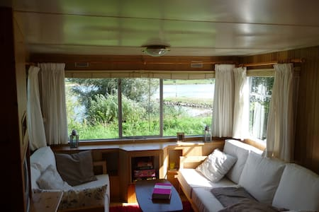 Caravan with a beautiful river view - Wapenveld - Andere