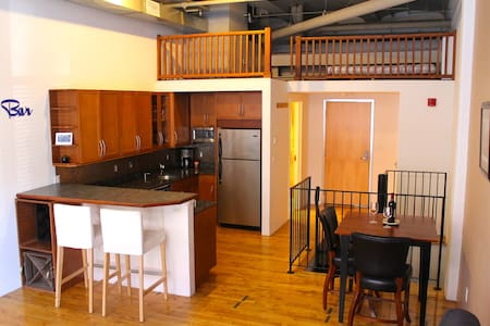 *** BIG LOFT *** Downtown Luxury for 1-4 people - Boston