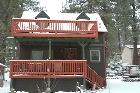 Cabin In Picturesque Lake Community - Green Valley Lake - Cabane