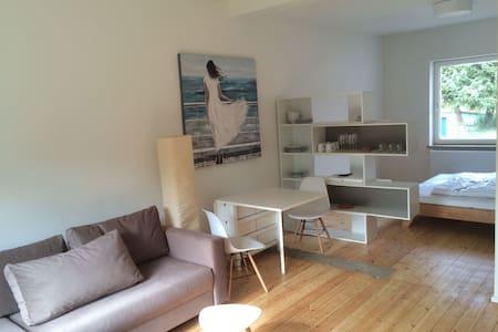 Urlaub an Hamburgs schönstem Naturbadesee - Apartamento