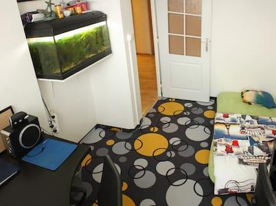 Comfy room with aquarium - Lejlighed