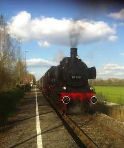 Wohnen im historischem Bahnhof - Obergriesbach