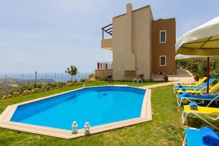 TRIOPETRA VILLAS PANAGIA (DIMITRIS)PRIVATE POOL - Triopetra - Villa
