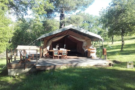 Tente safari ou Eco lodge - Pampelonne - Zelt