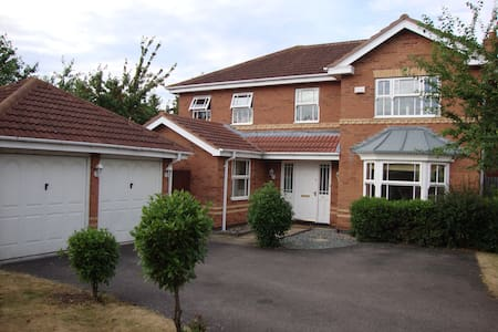 5 Bed House Bedford close to Camb/MK/London/Luton - Elstow