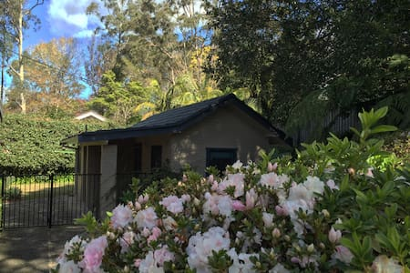 Cosy hut with tranquil garden view - Turramurra
