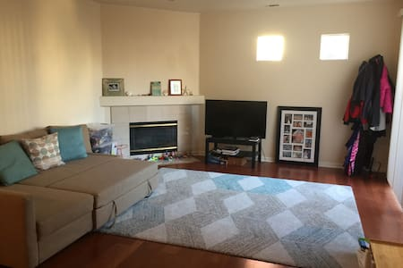Large, clean, private 2bd convenient Palo Alto apt - Palo Alto - Appartement